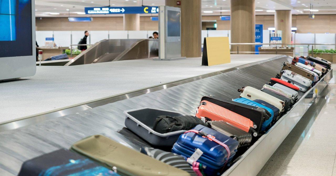 багаж на ленте