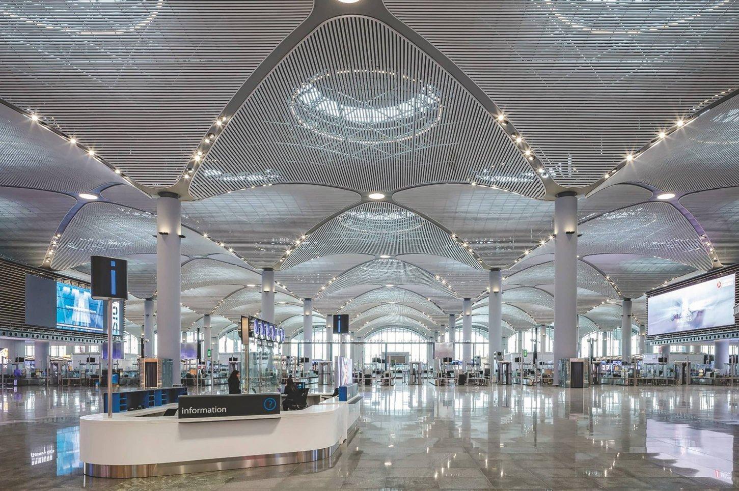 Аэропорт Стамбула новый