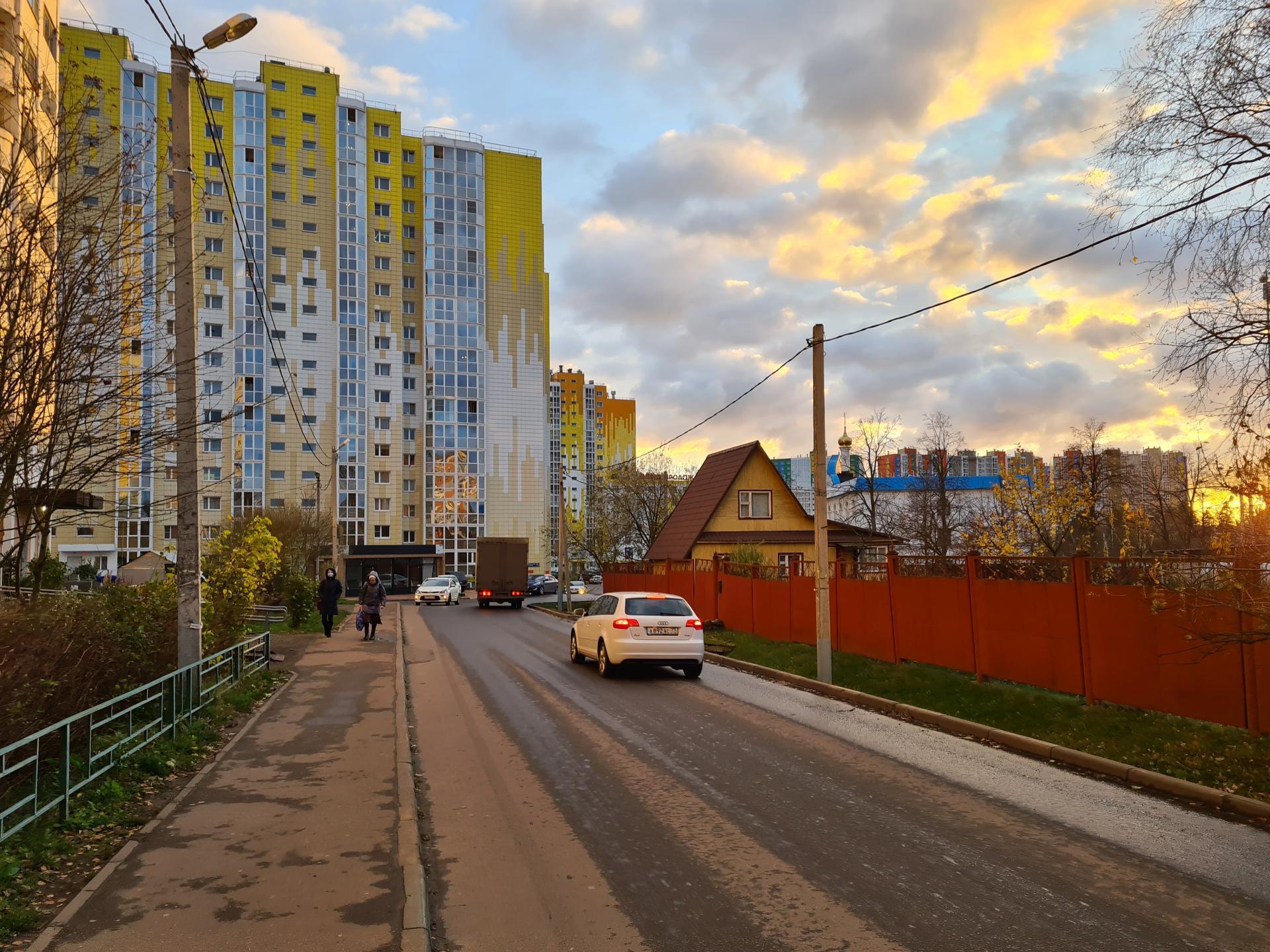 деревня Голубое Солнечногорский район