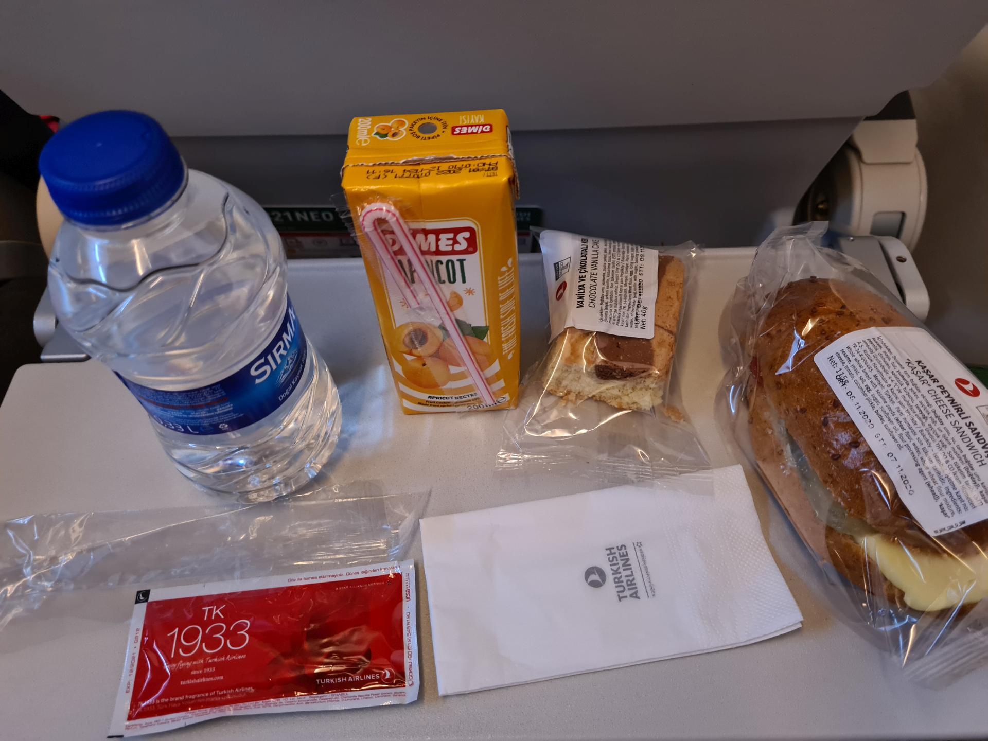 еда Turkish Airlines во время коронавируса
