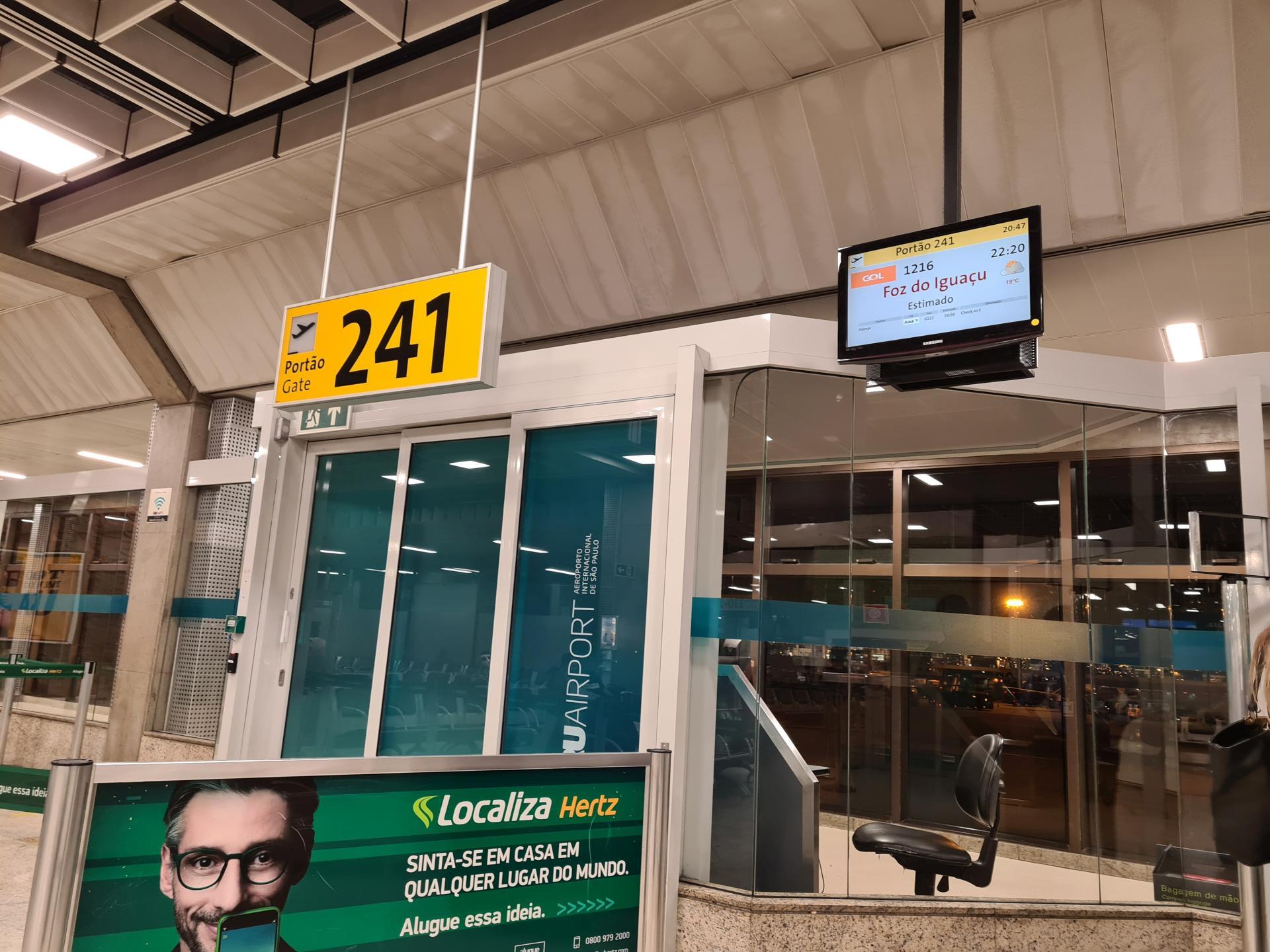 гейт аэропорта Гуарульос