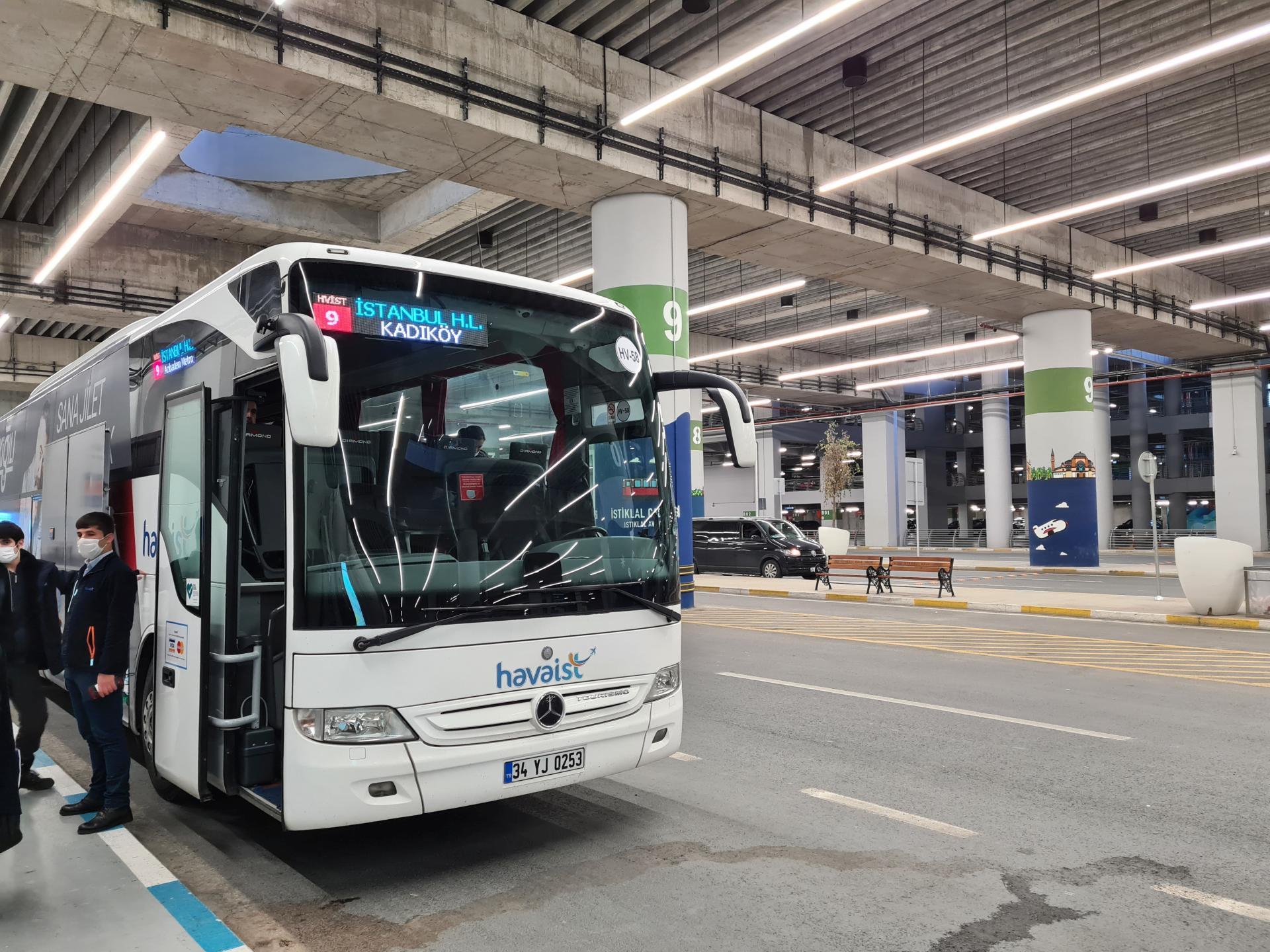 автобусы Havaist IST