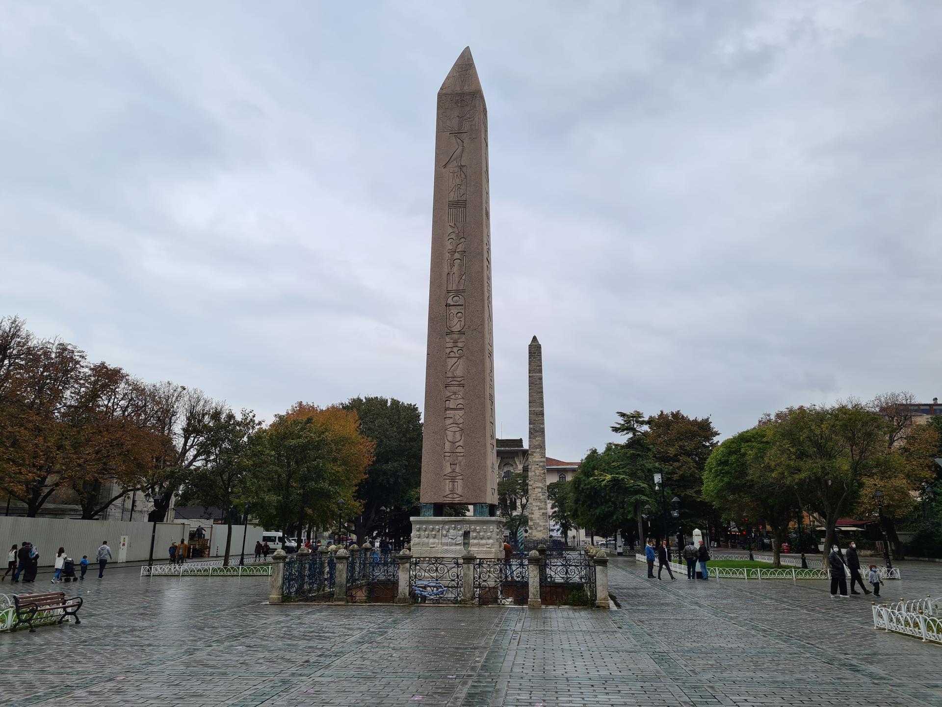 обелиск Феодосия, Стамбул