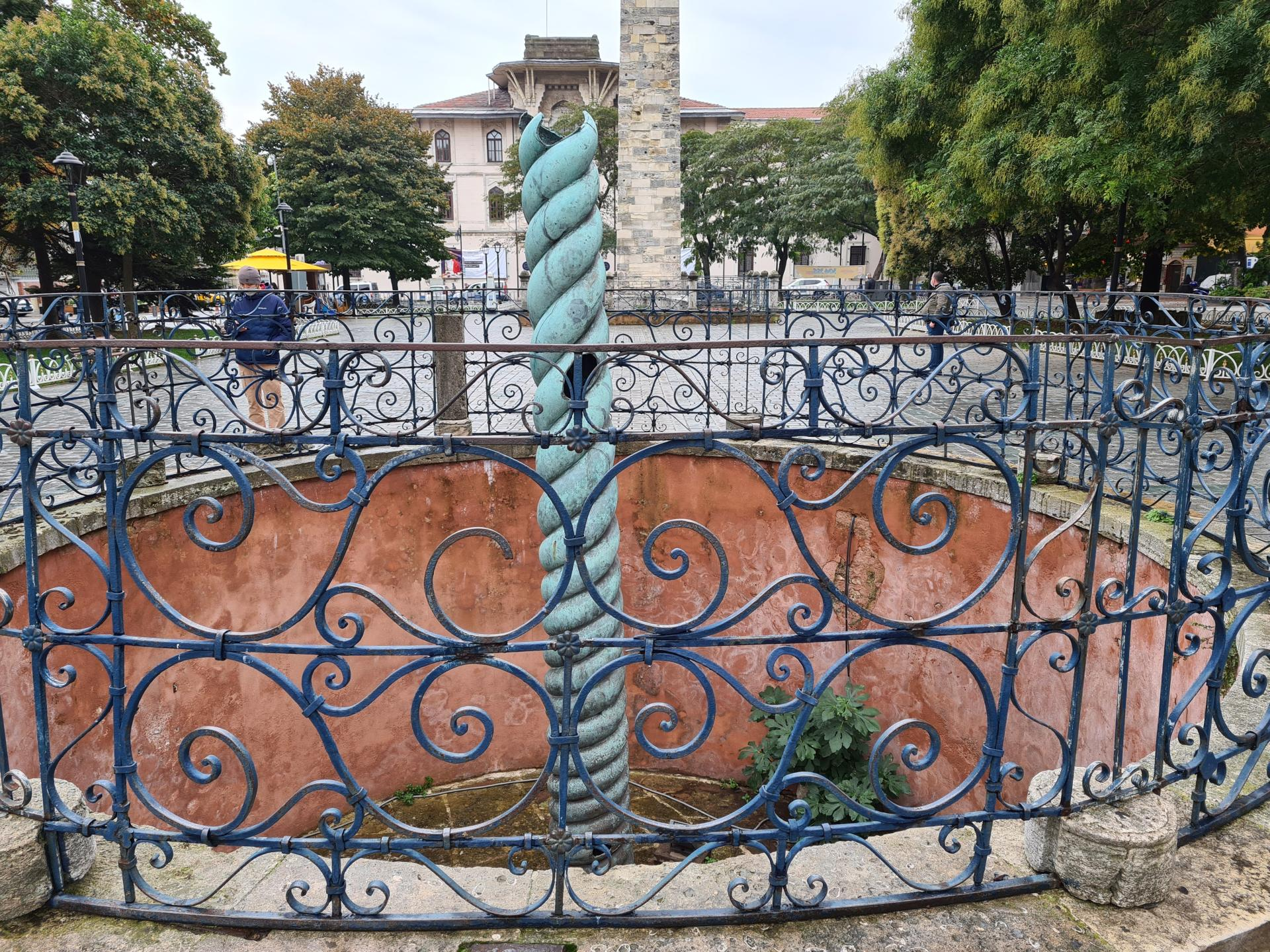 Змеиная колонна, Стамбул