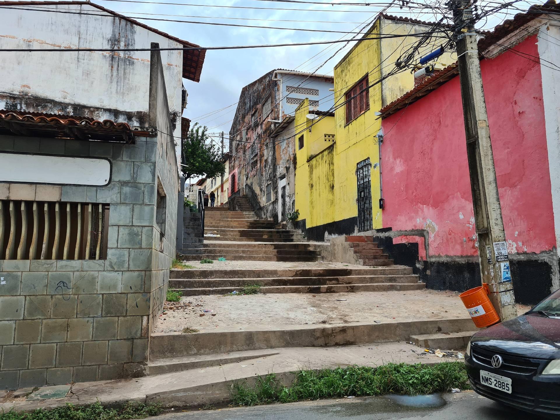 на улицах Сан-Луиса, Бразилия