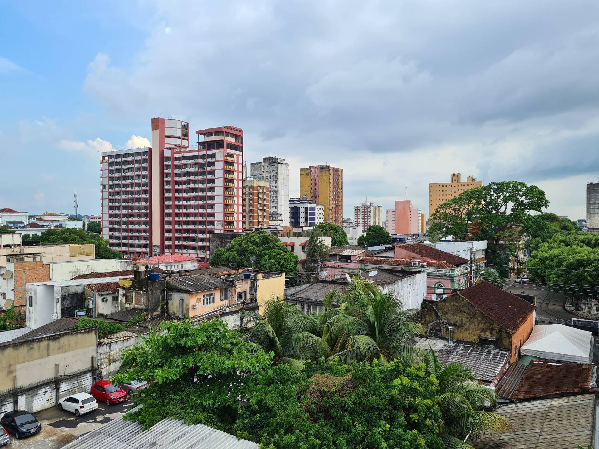 Вид с балкона отеля в Манаусе