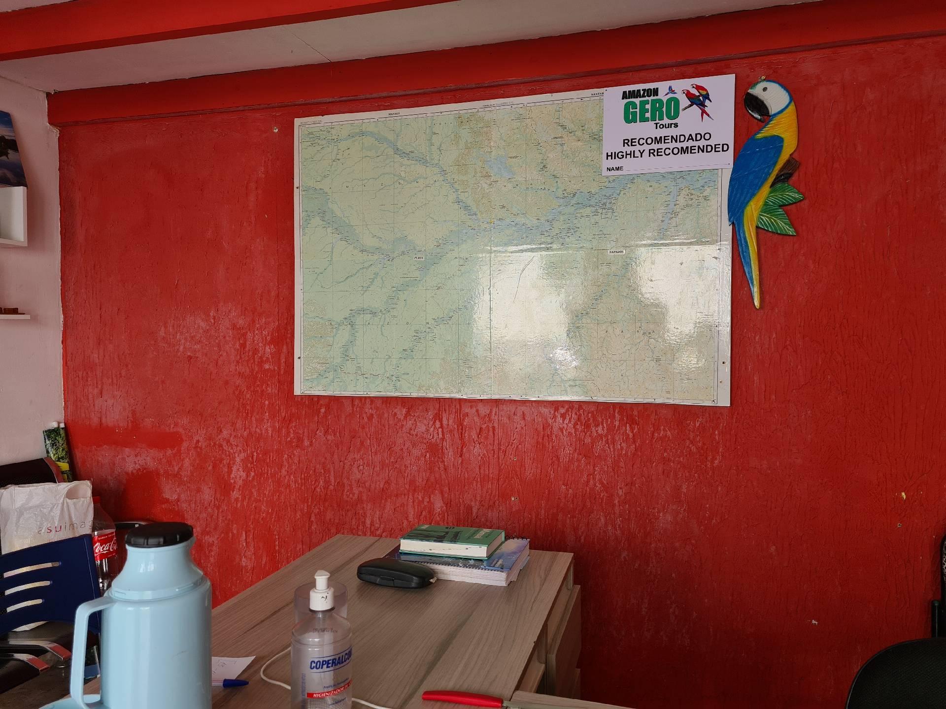 офис турагентства в Манаусе