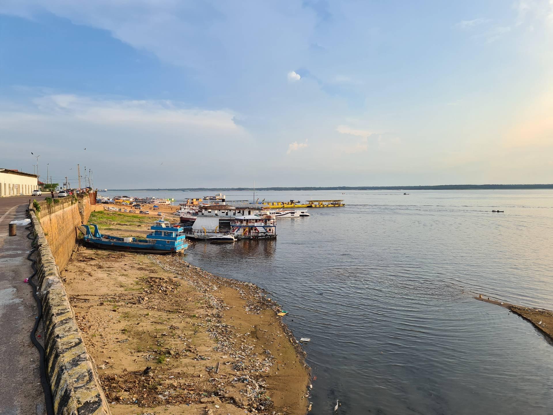 Амазонка с набережной Манауса