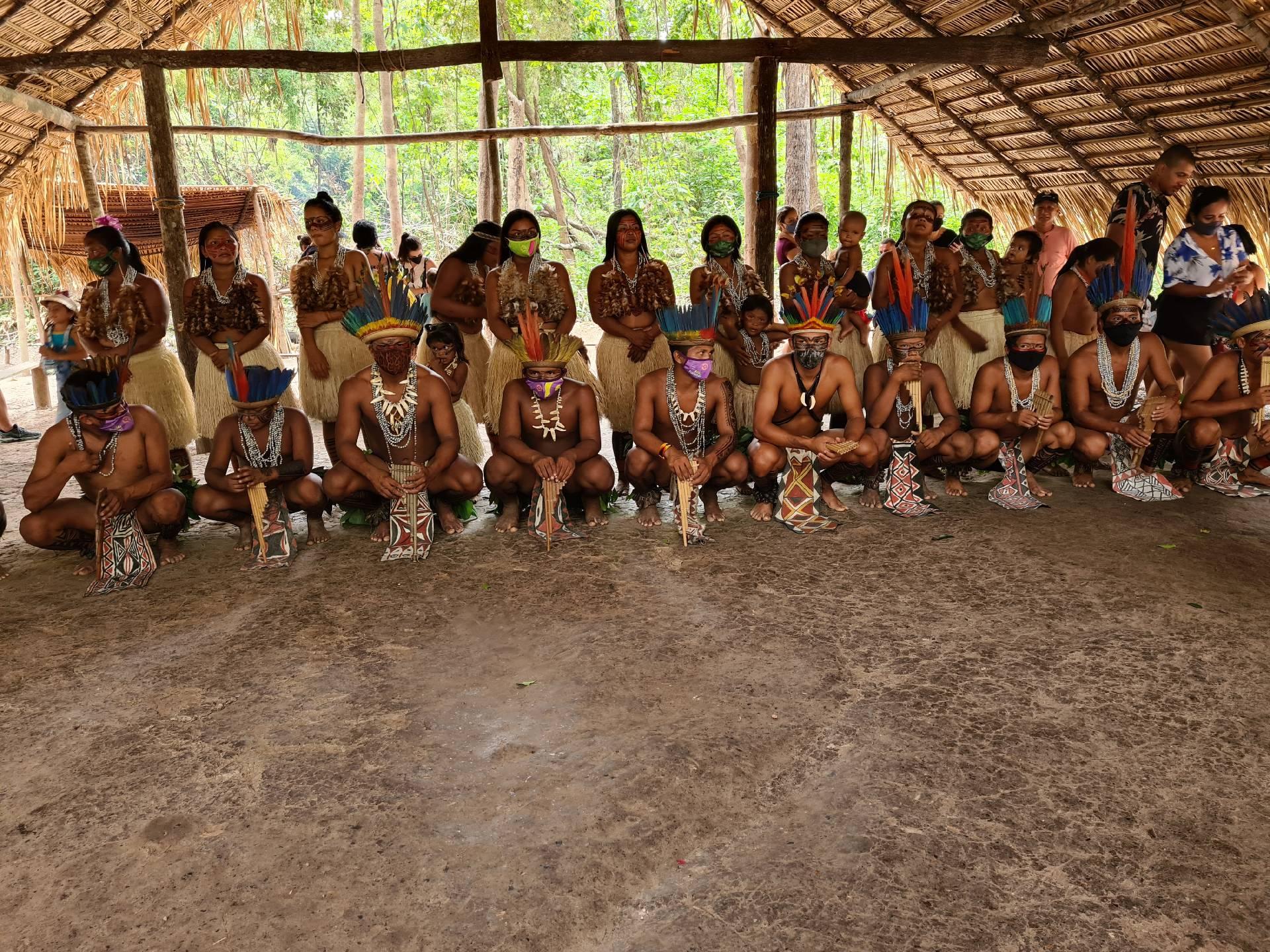 племя индейцев в Южной Америке