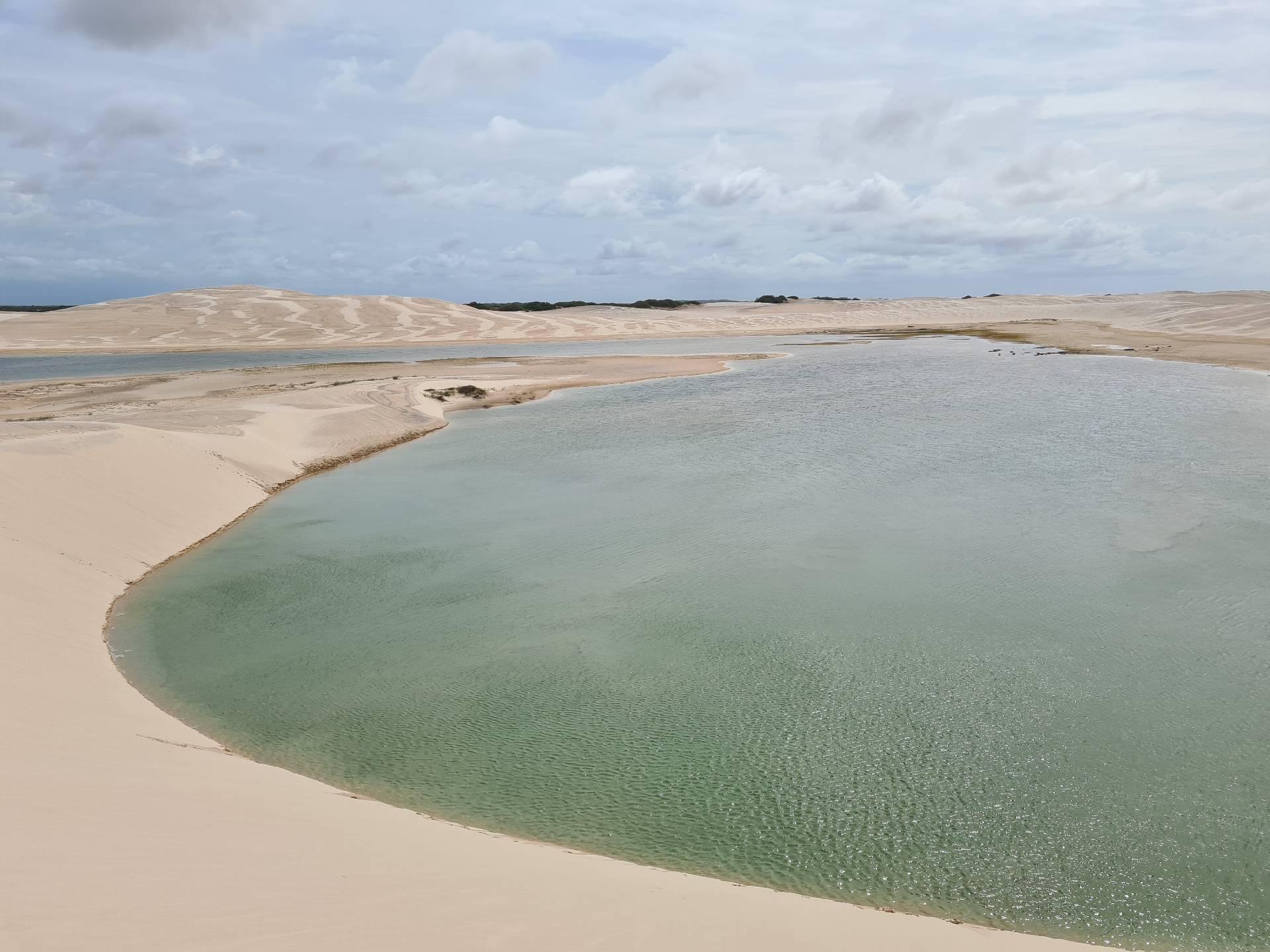 Лагуна среди дюн, Ленсойс-Марраньенсис