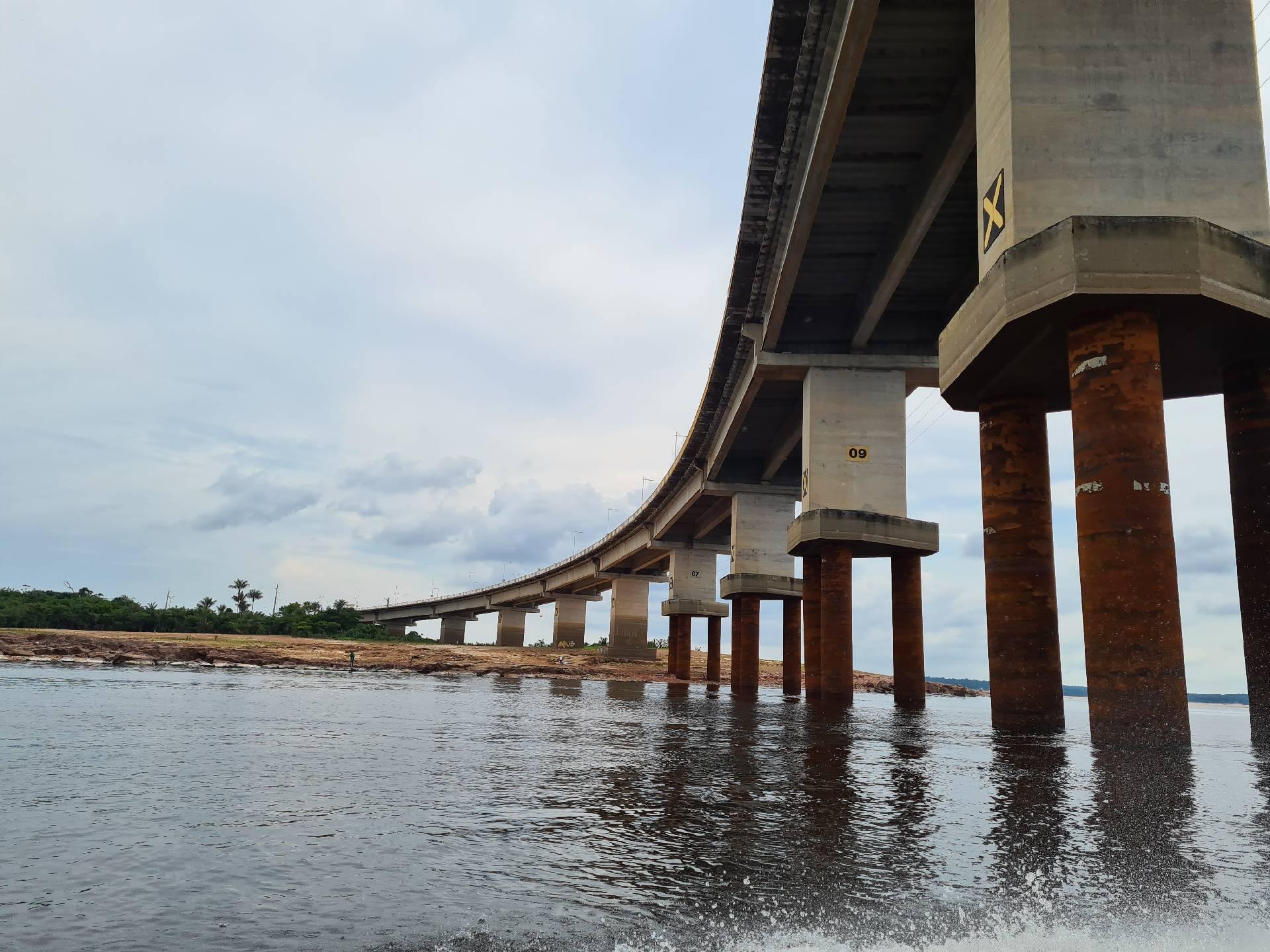 мост Манаус - Ирандубу через реку Риу-Негру