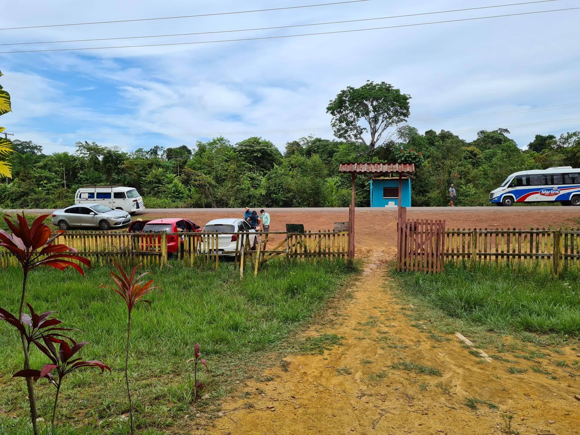 местность рядом с трассой в Бразилии