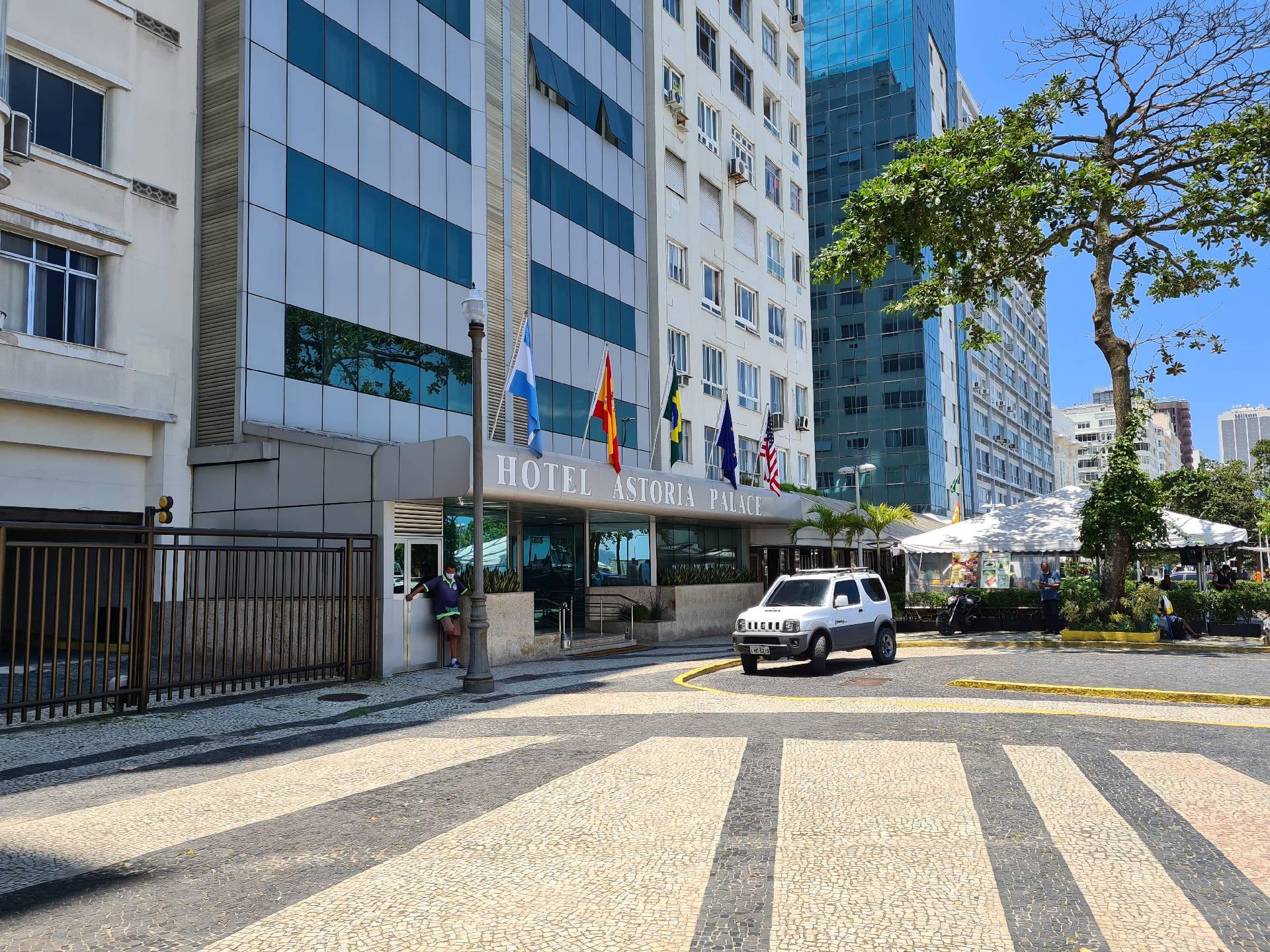 отель Астория в Рио-де-Жанейро