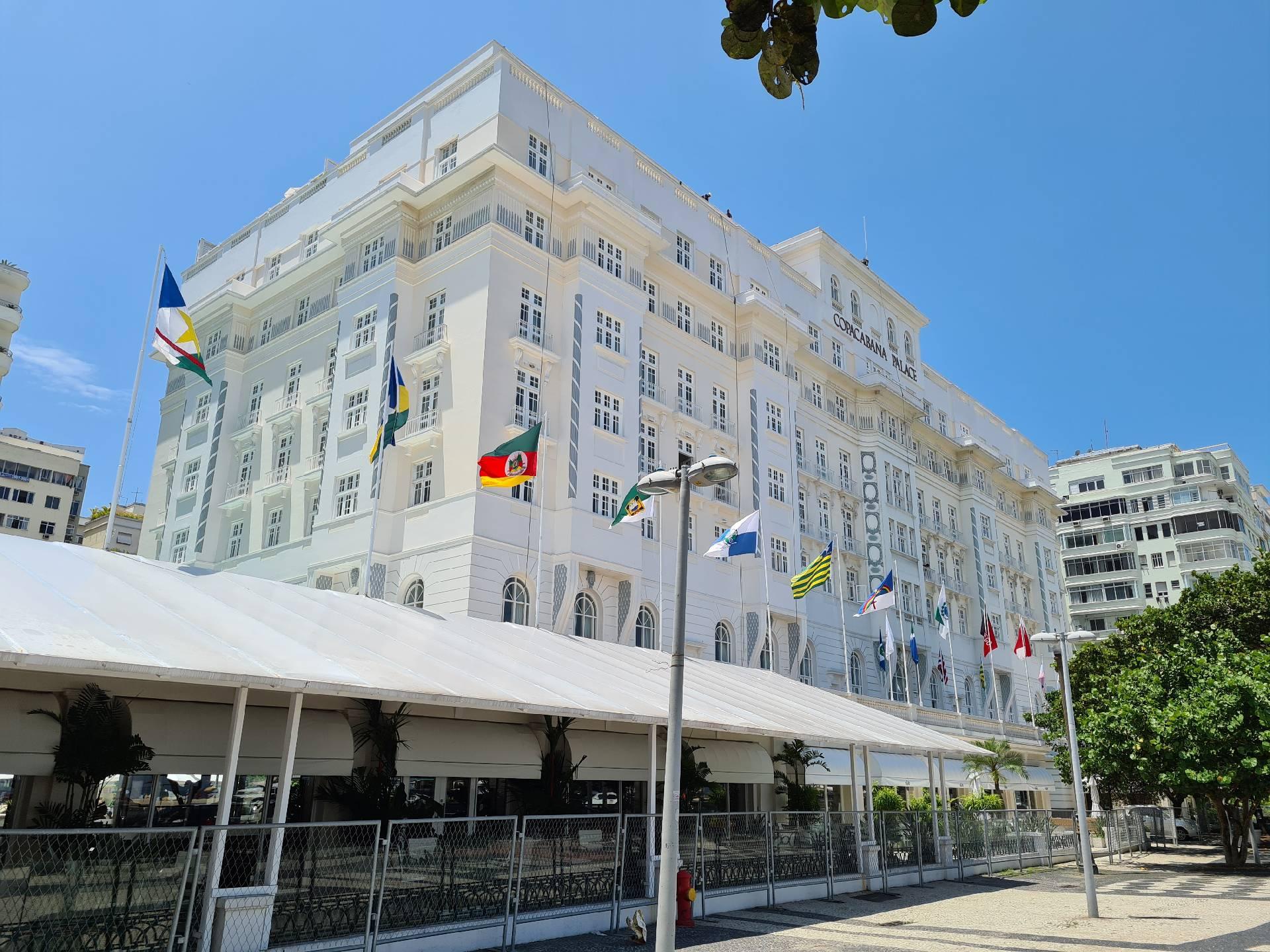 отель Copacabana Palace в Рио-де-Жанейро