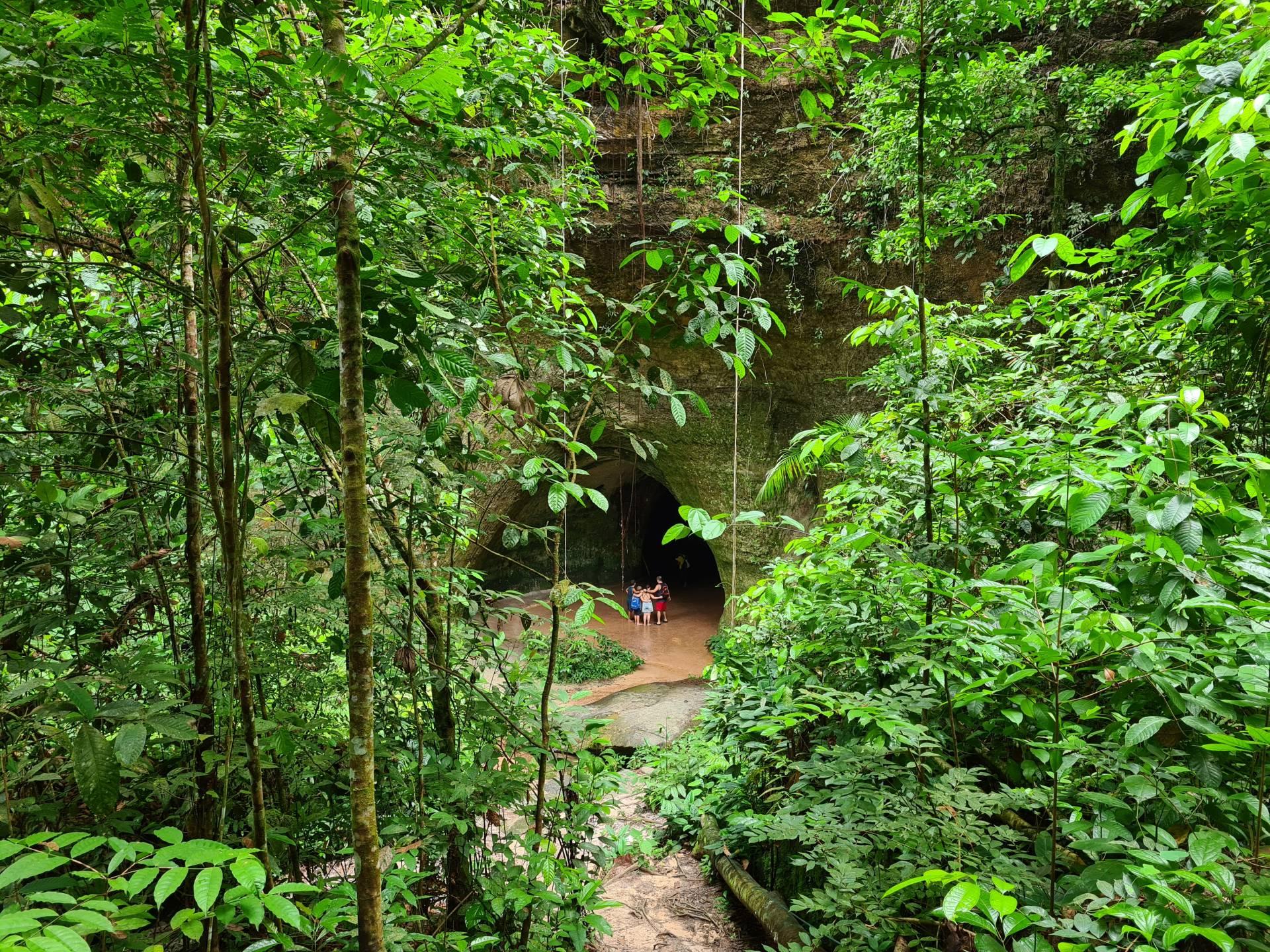 вход в пещеру Мароага