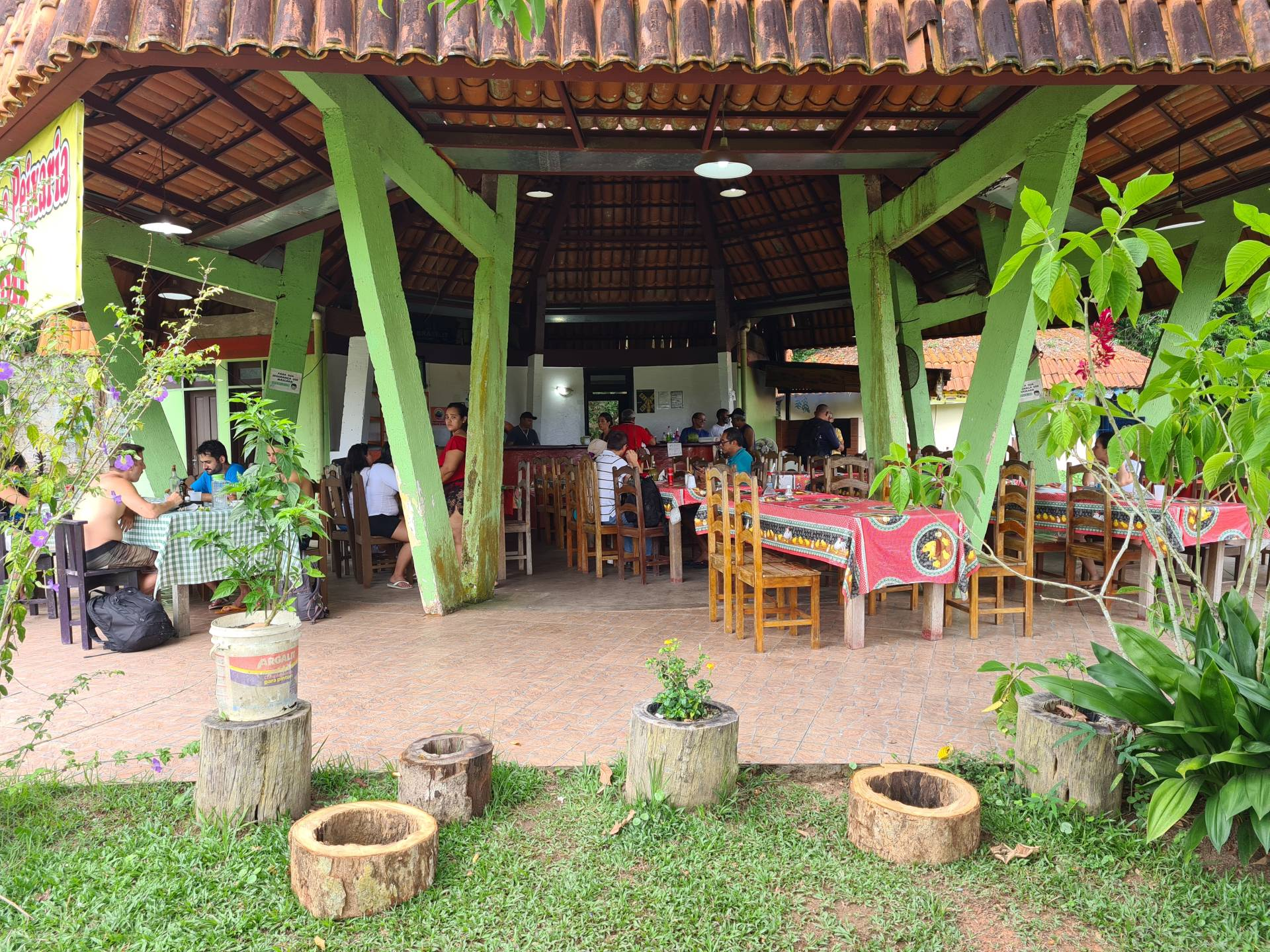 бразильское кафе