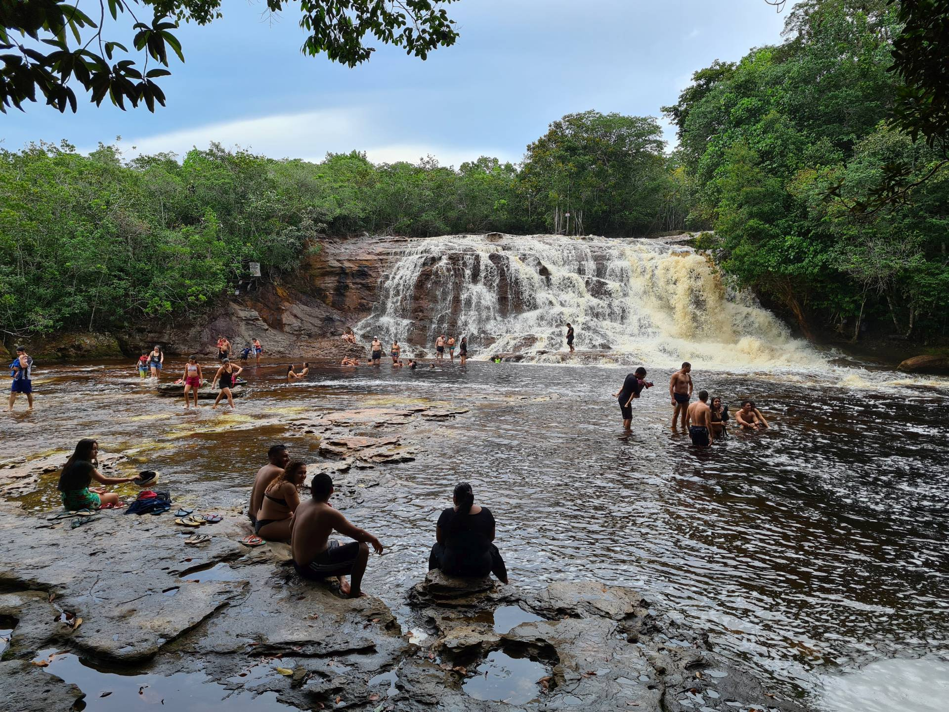 водопад Ирацема, Бразилия