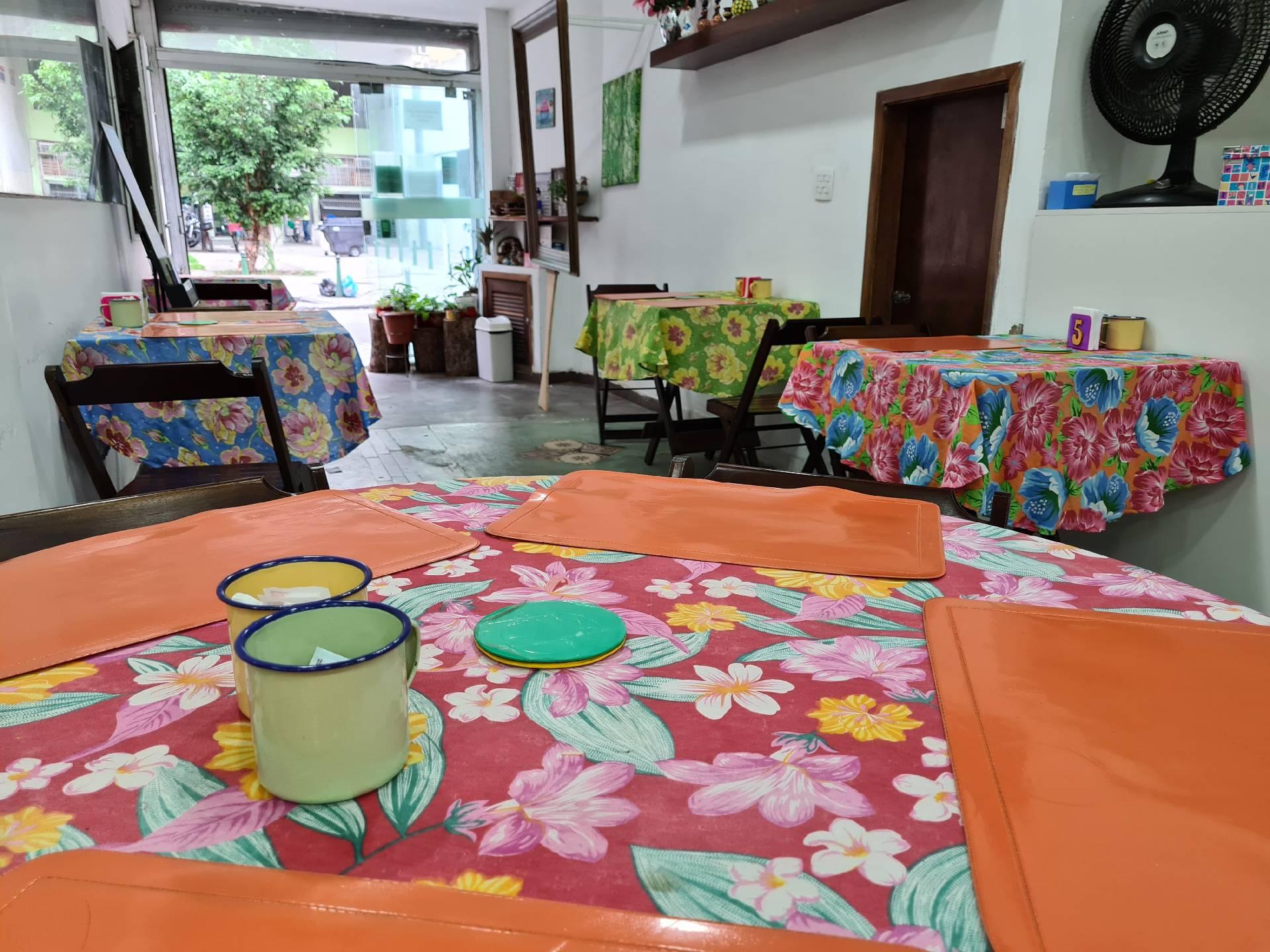 в бразильском кафе