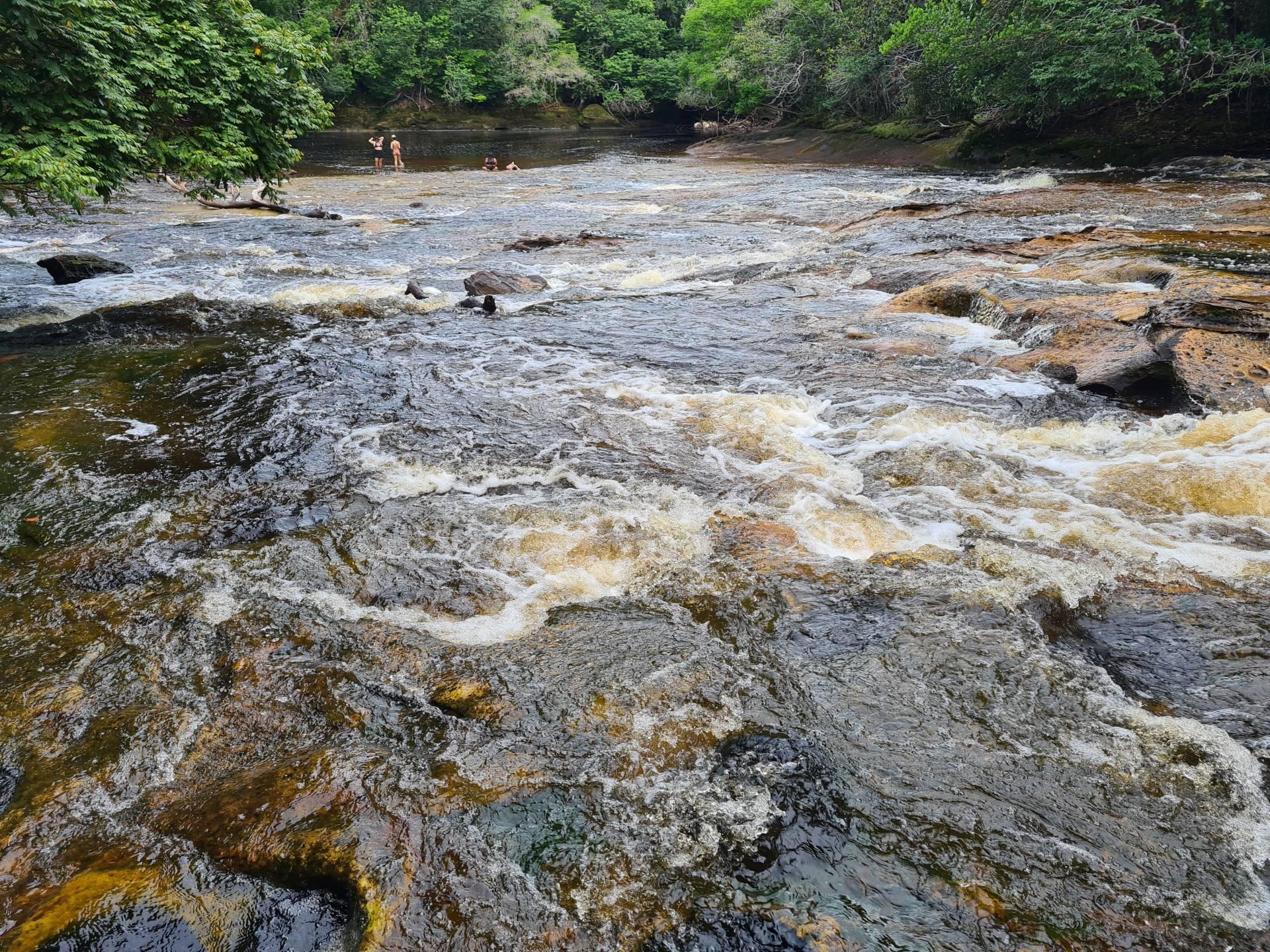 река Урубу, Бразилия