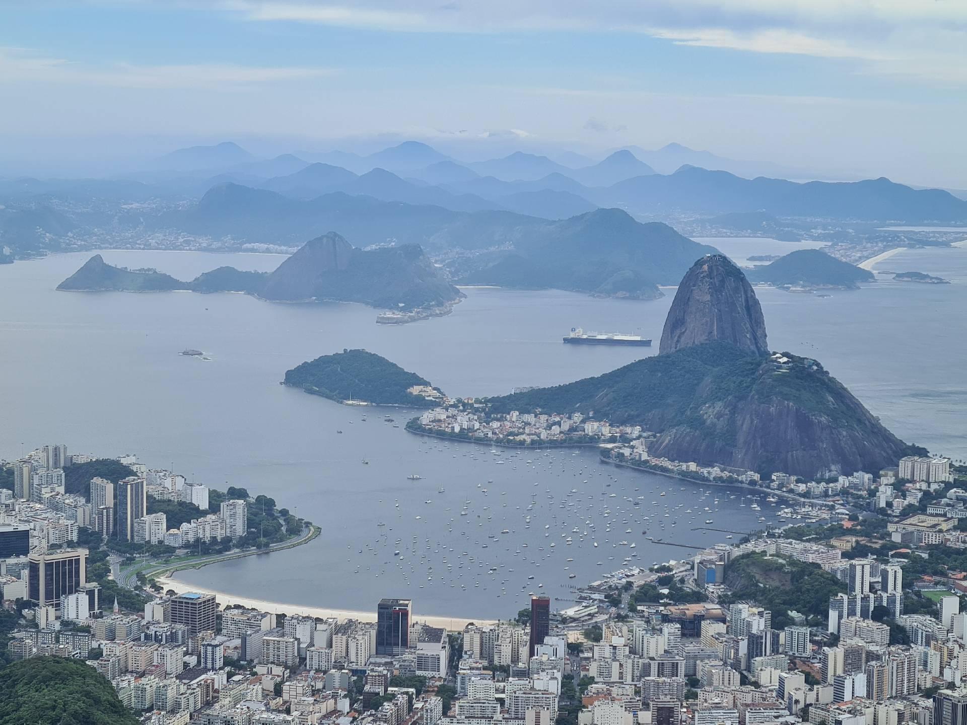 гора Сахарная Голова в Рио-де-Жанейро