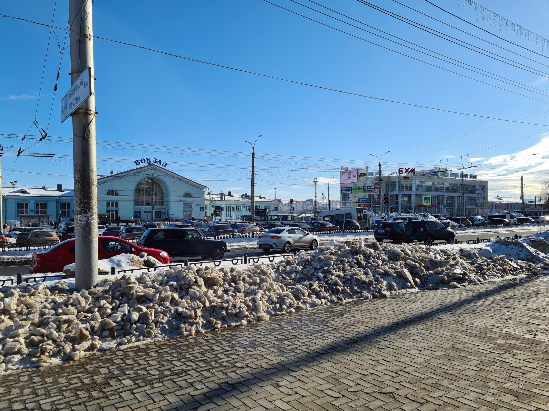 привокзальная площадь Киров