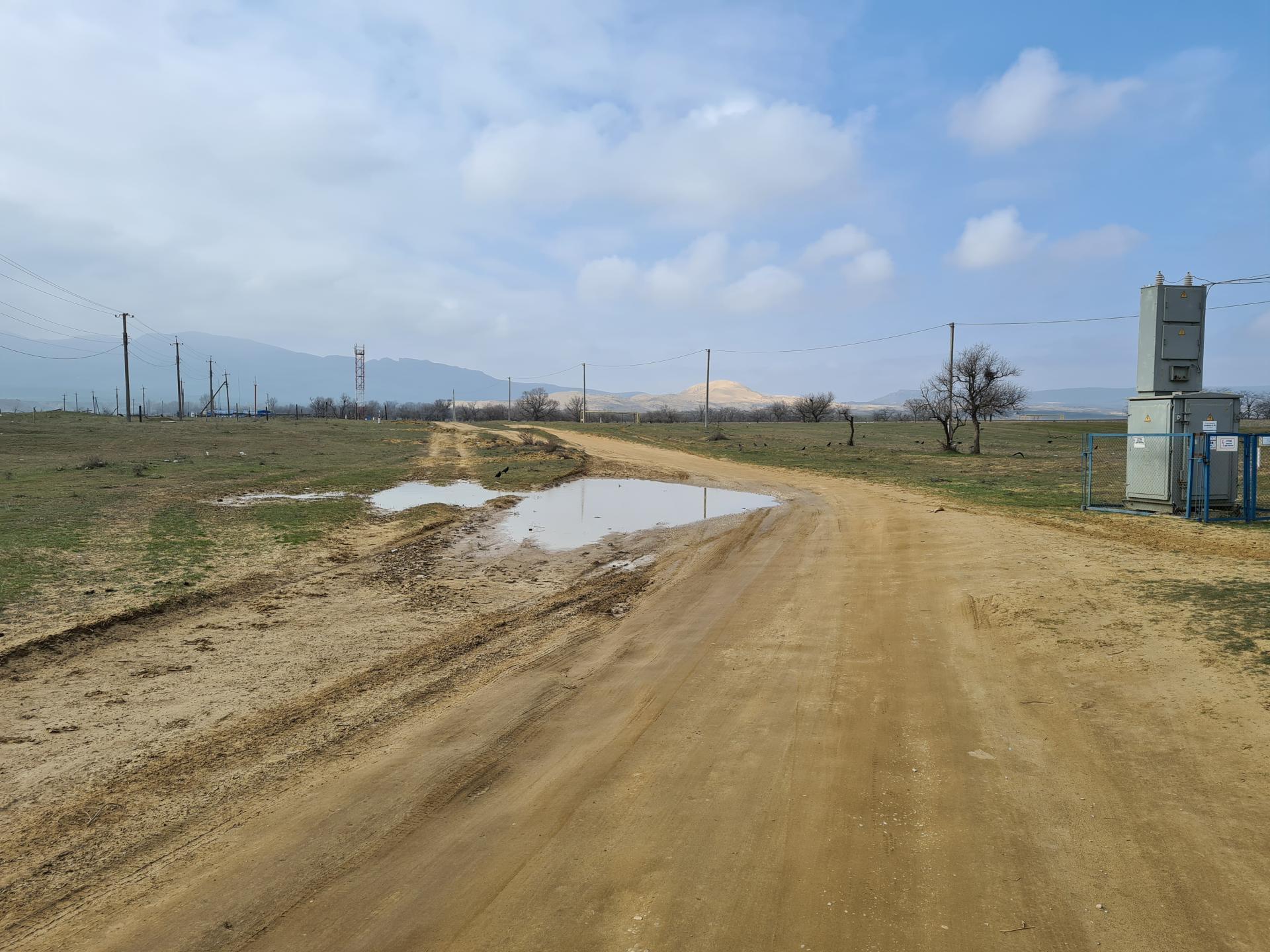 грунтовая дорога на бархан Сарыкум