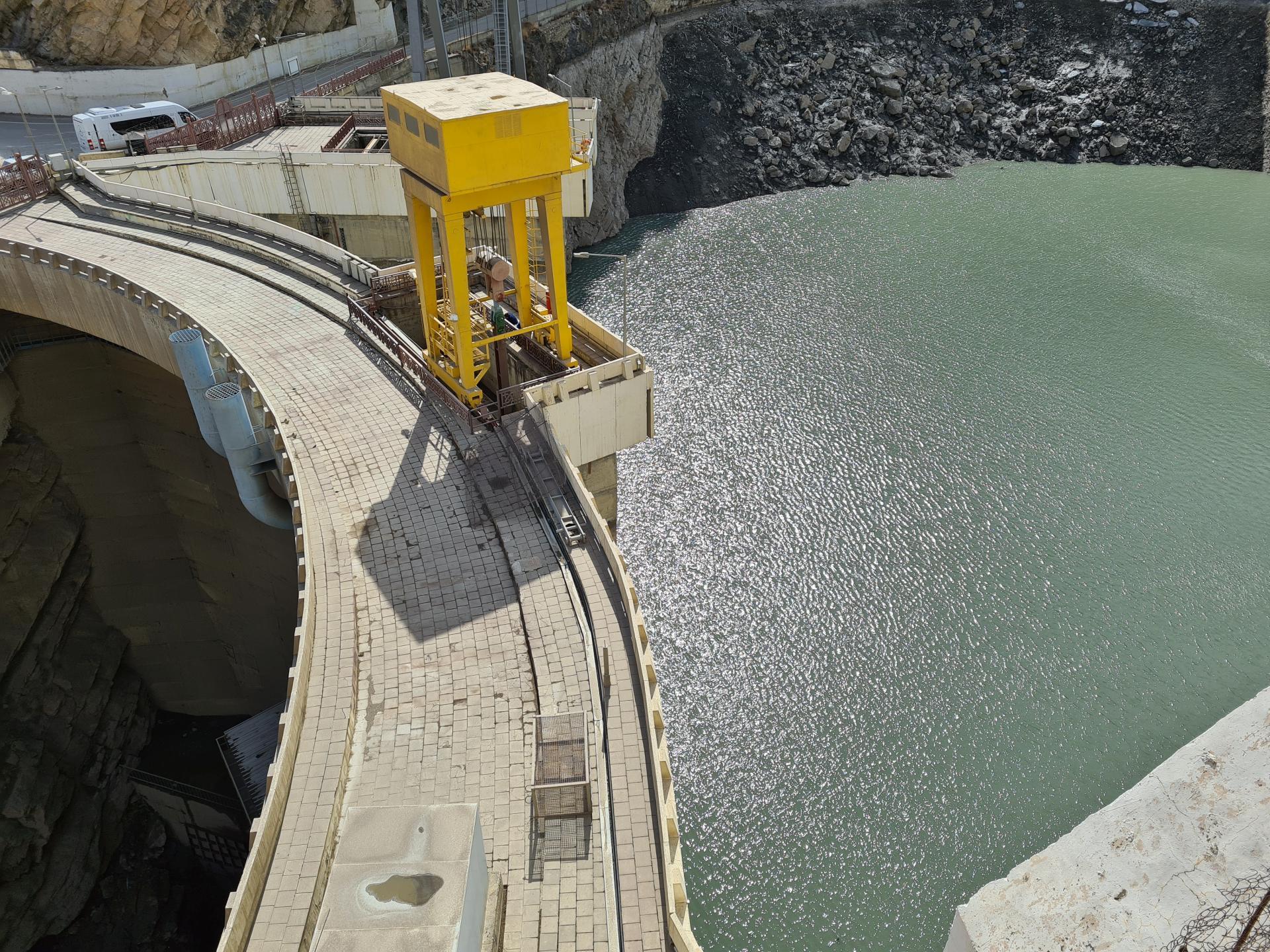 плотина Гунибской ГЭС