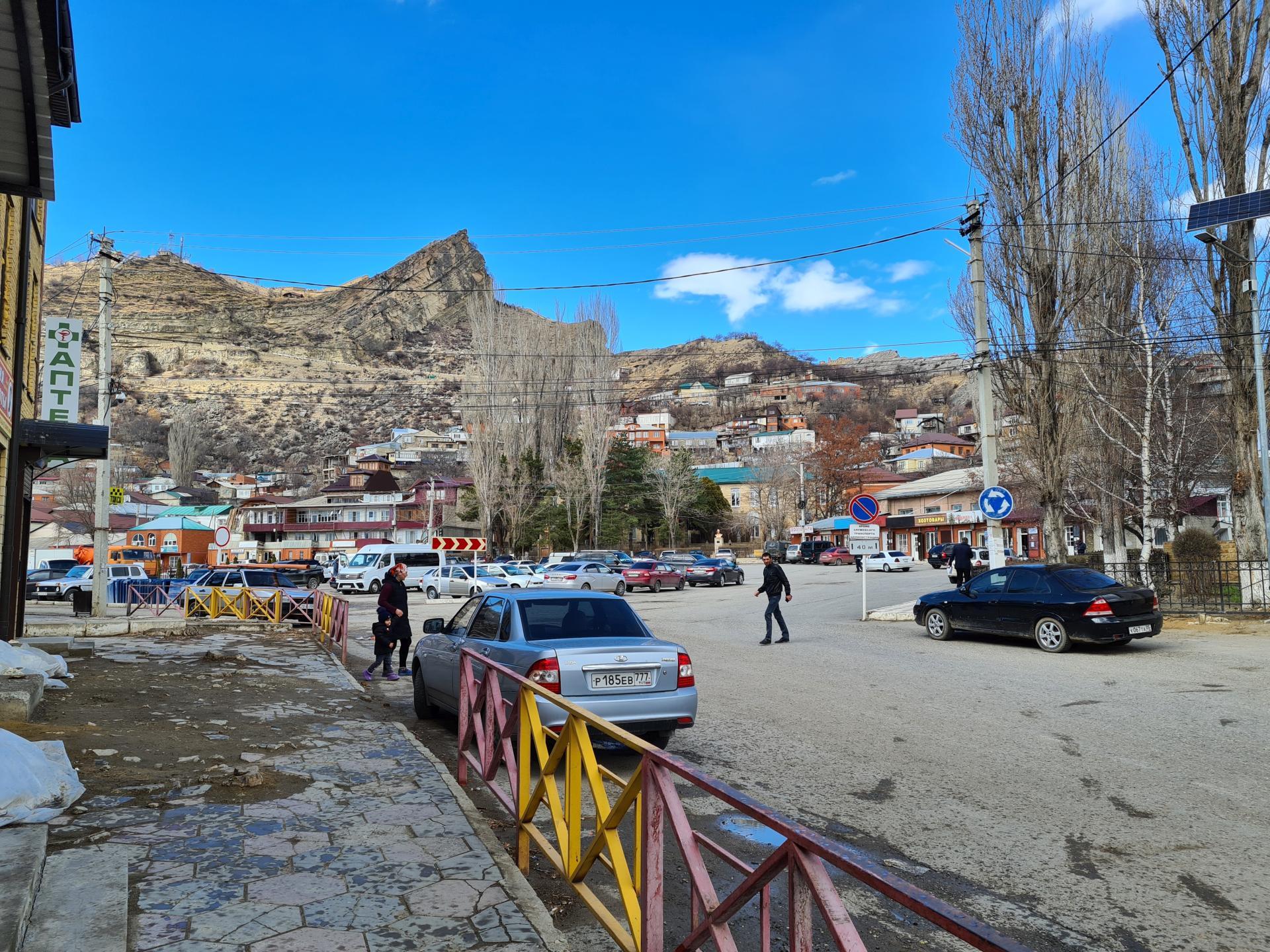 центральная часть села Гуниб