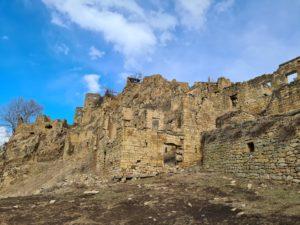 аул Гамсутль в Дагестане