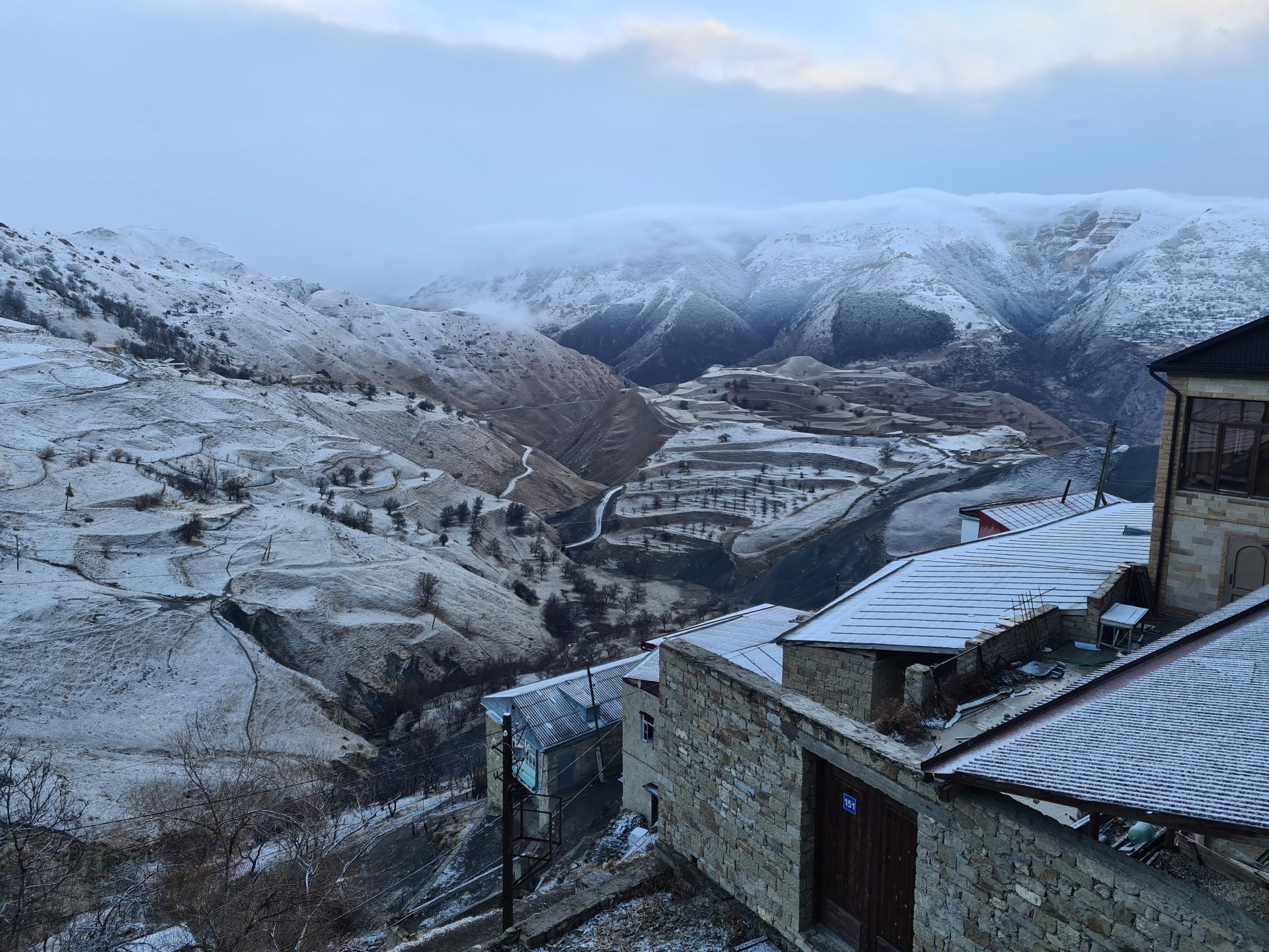 аул Чох в Дагестане