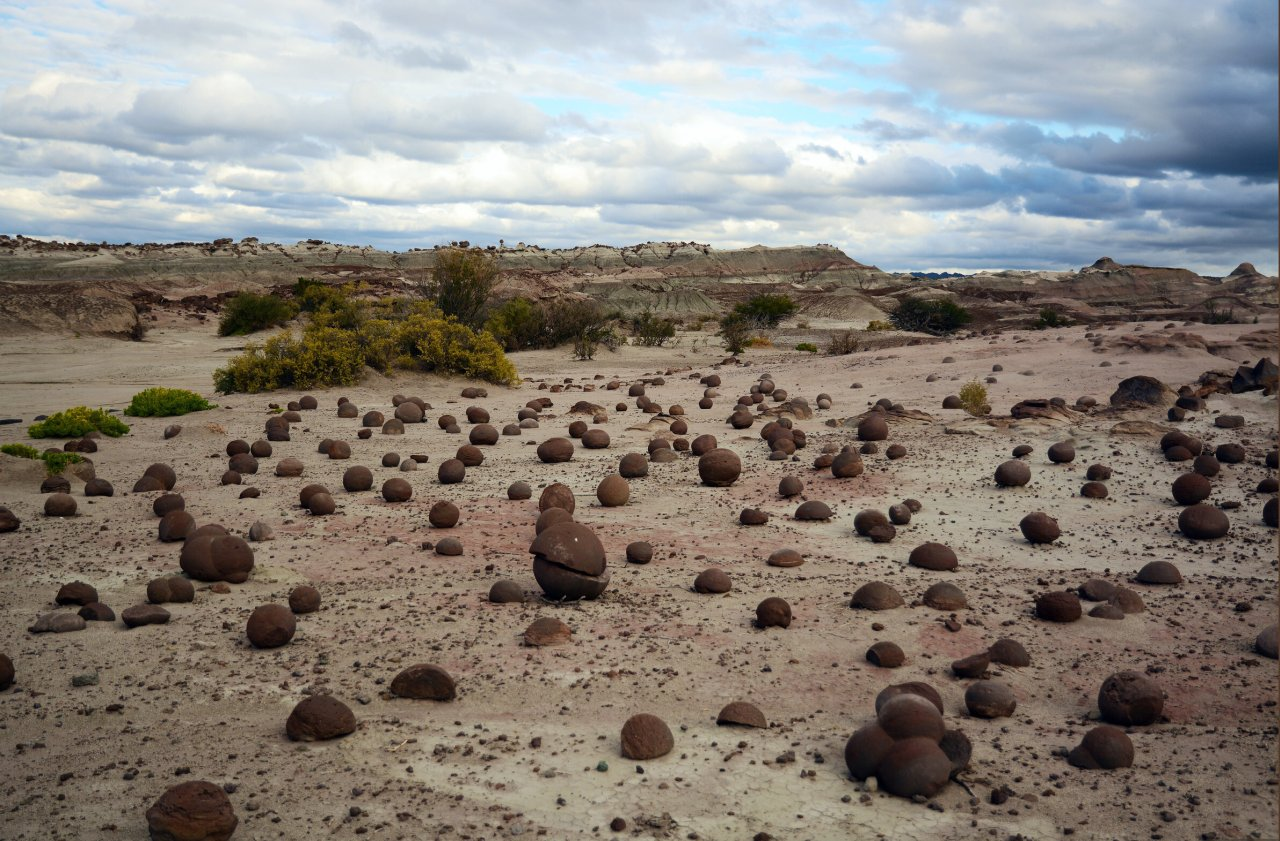 каменные шары в парке Исчигуаласто