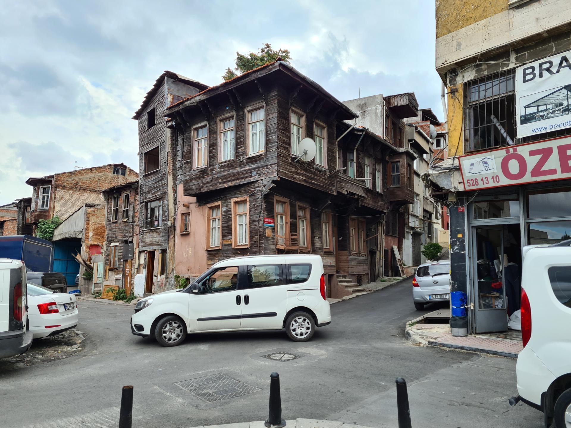 бедный район Стамбула